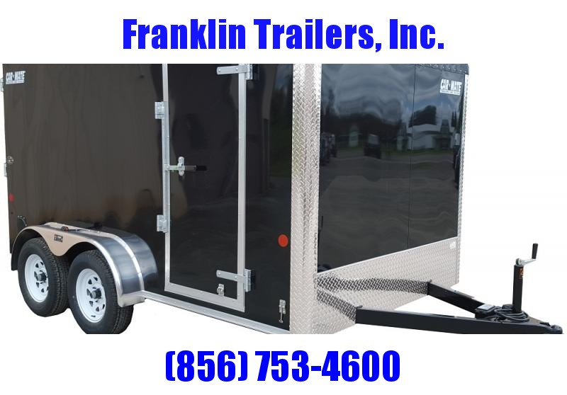 2019 Car Mate Trailers 7x16 - 7'W Tandem Axle Enclosed Cargo Trailer 2020930