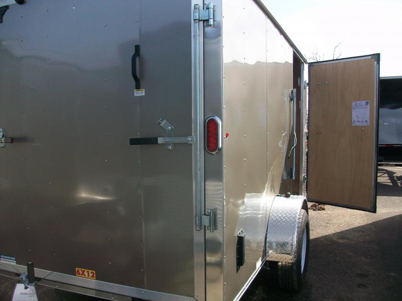 2017 Carry-On 6x12 Enclosed Cargo Trailer 2016757