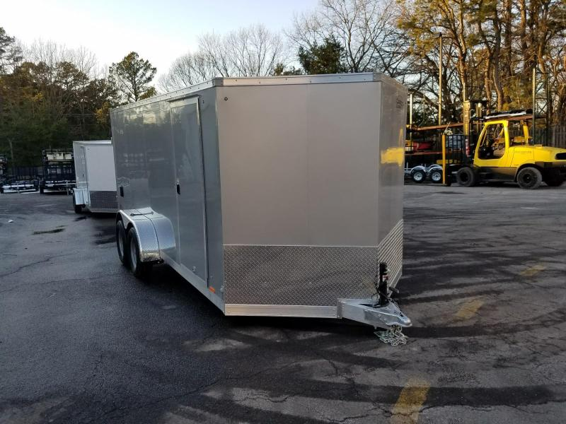 2018 Cargo Express 7x16 Aluminum Enclosed Cargo Trailer  2018262