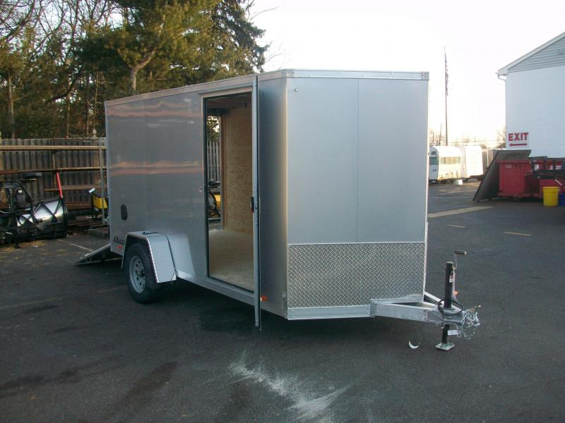2018 Cargo Express 6x12 Aluminum Enclosed Cargo Trailer 2018169