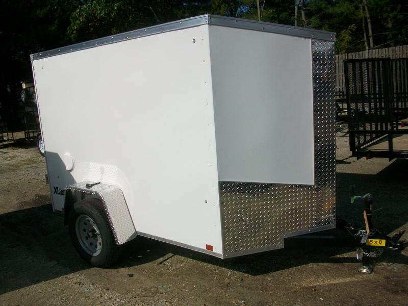2018 Cargo Express 5x8 V-Nose Enclosed Cargo Trailer 2017854