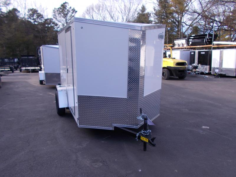 2019 Cargo Express 6x10 V-Nose Cargo / Enclosed Trailer 2020063