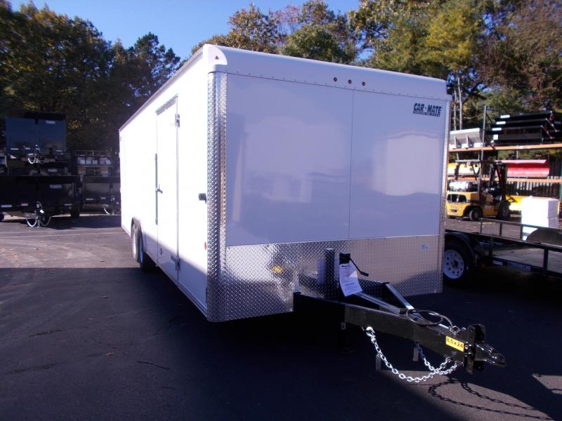 2019 Car Mate Trailers 8.5x24 10K Car / Racing Trailer 2019623