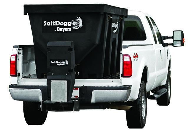 SaltDogg SHPE1000 1.0 cu yd Salt Spreader