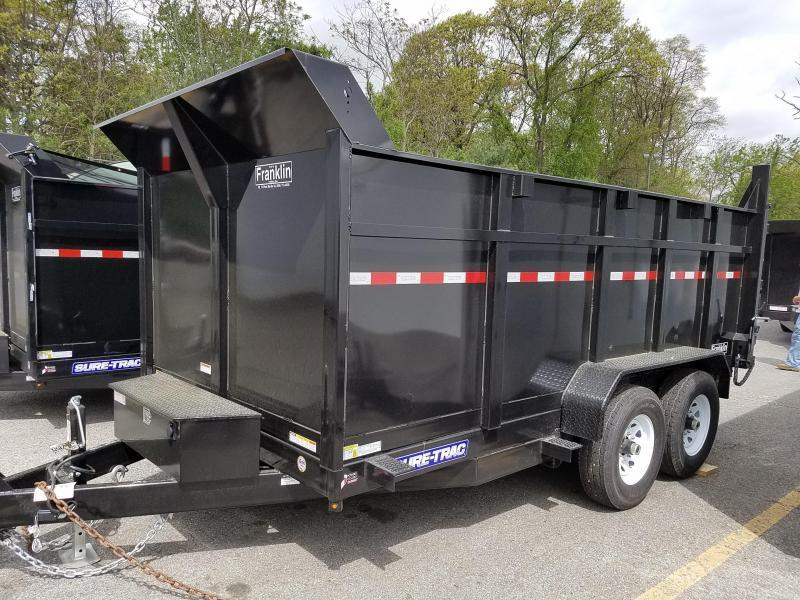 2018 Sure-Trac 82x14 High Side Dump Trailer 2018403
