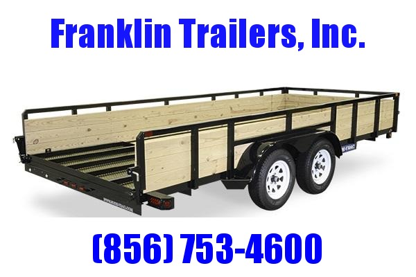 2020 Sure-Trac 7 X 14 TA 3-Board High Side Tube Top Utility Trailer 2020815