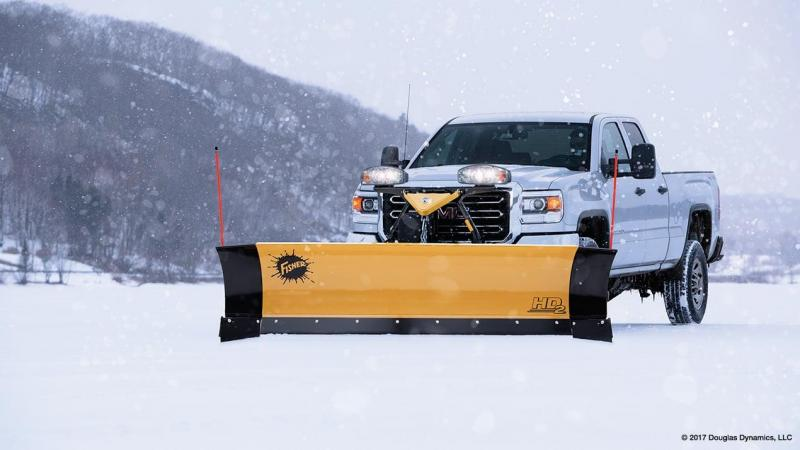 2018 Fisher Engineering HD2 Snow Plow