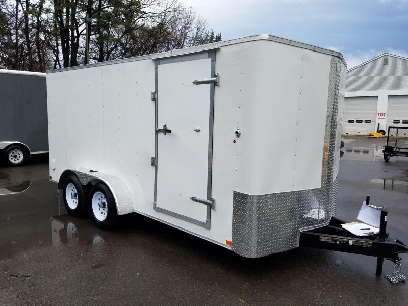 2018 Carry-On 7X16 V-Nose Enclosed Cargo Trailer 2018266
