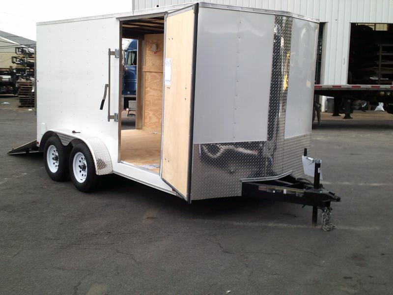 2018 Carry-On 7X14 7 ft. Bull Nose Enclosed Cargo Trailer 2018624