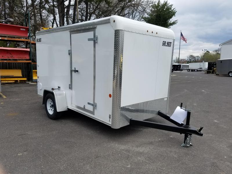 2018 Car Mate Trailers 6x12 Enclosed Cargo Trailer 2018671
