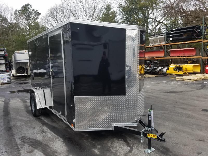 2019 Cargo Express 6X12 V-Nose Enclosed Cargo Trailer 2019926