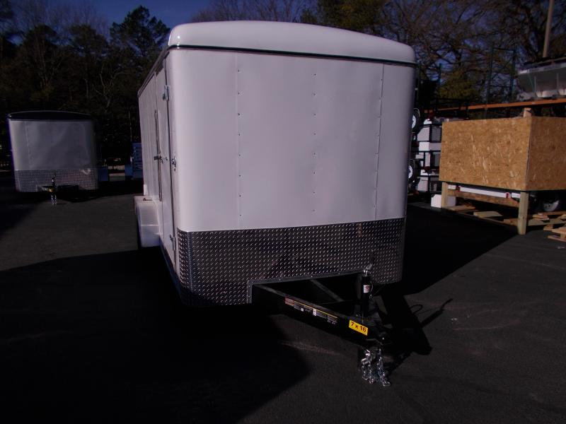 2019 Carry-On 7X16 Enclosed Cargo Trailer 2019877