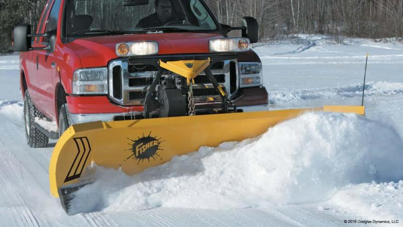 2018 Fisher Engineering XLS Snow Plow