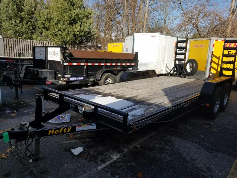 2016 7x18 Used Equipment Trailer 2018123