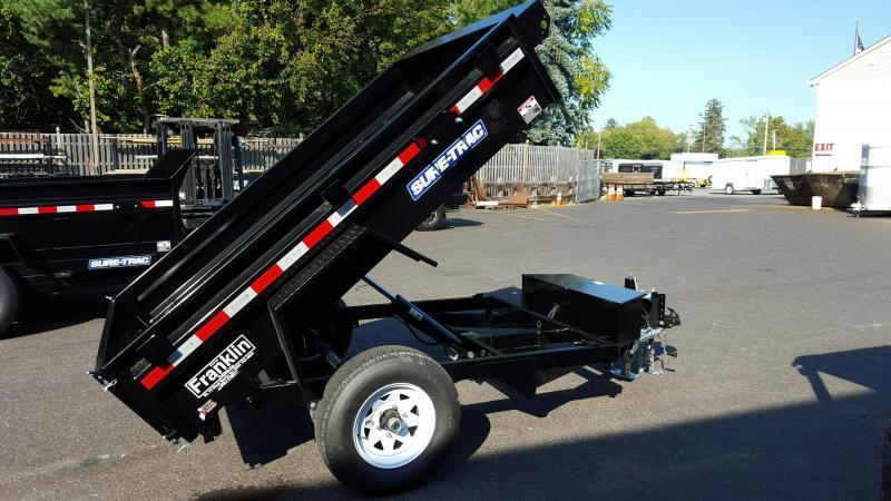 2017 Sure-Trac 5 x 8 Low Pro Dump Trailer 2017583