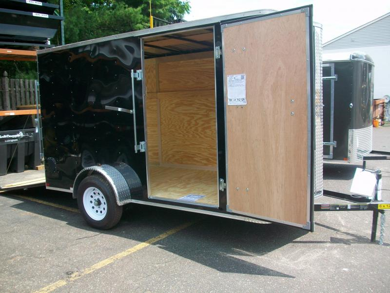 2017 Carry-On 6X12 Bull Nose Enclosed Cargo Trailer 2017405