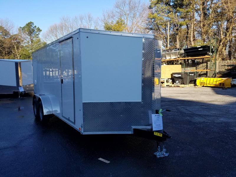 2019 Cargo Express 7X16 V-Nose Enclosed Cargo Trailer 2019904