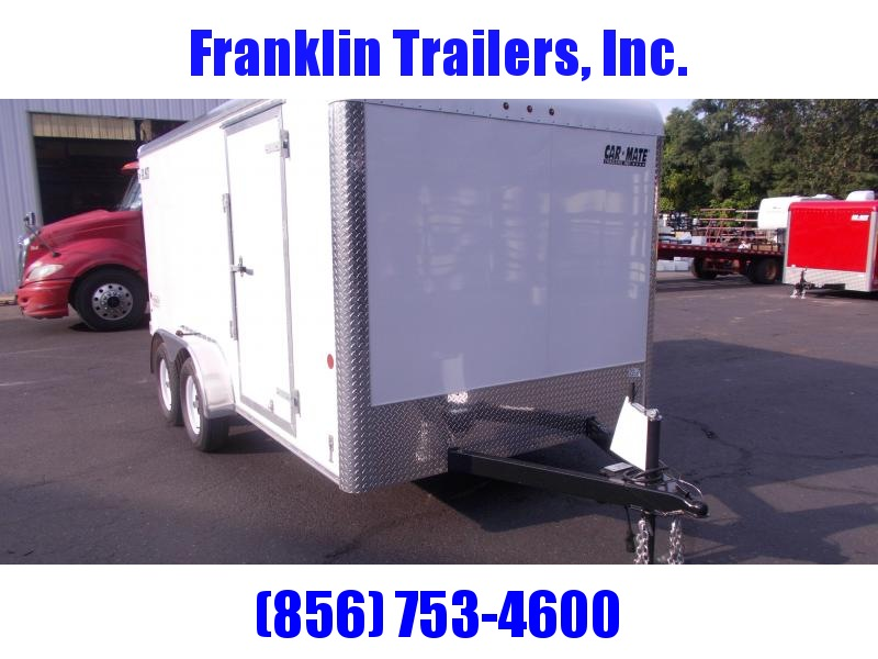 2020 Car Mate 7x14 Enclosed Cargo Trailer 2021047
