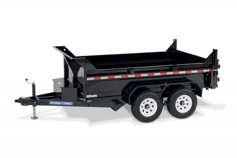 2019 Sure-Trac 5x10 Low Pro 7K Dump Trailer 2019205