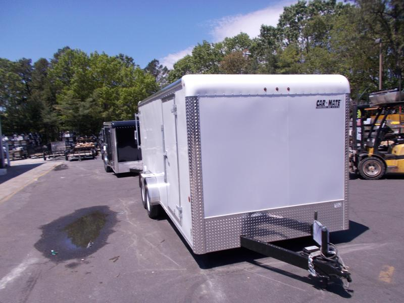 2020 Car Mate Trailers CM716CC-HD - 7W Tandem Axle Custom Cargo Trailer Enclosed Cargo Trailer