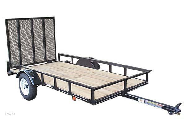 2018 Carry-On 5X8 - 2000 lbs. GVWR Wood Floor Utility Trailer 2018010