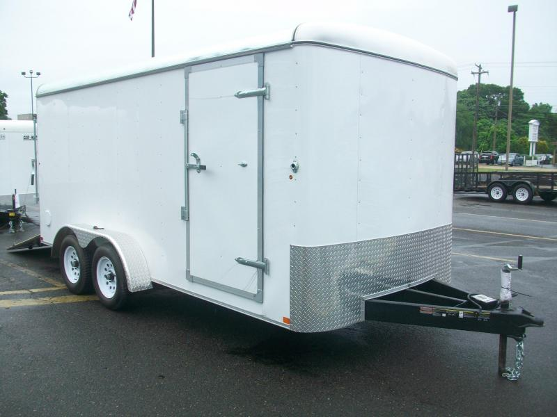 2017 Carry-On 7x16 Enclosed Cargo Trailer 2017351