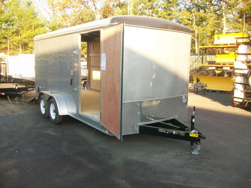 2018 Carry-On 7x16 Enclosed Cargo Trailer 2018022