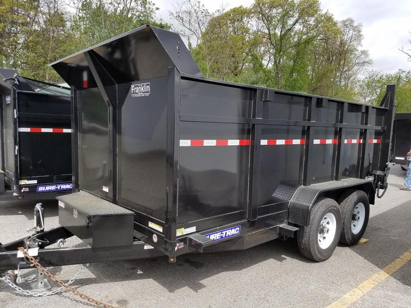 2019 Sure-Trac 82 IN X 14 LP 14K Dual Ram Dump 2019331