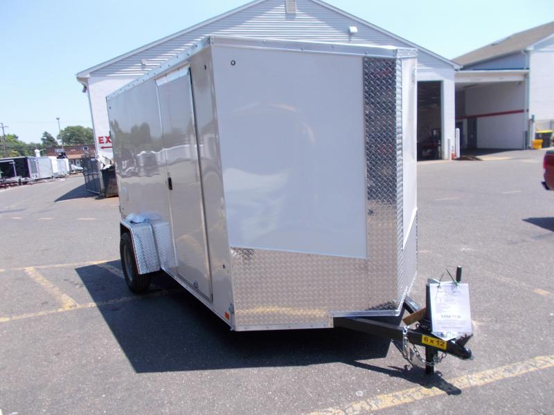 2018 Cargo Express 6x12 V-Nose Enclosed Cargo / Enclosed Trailer 2019163