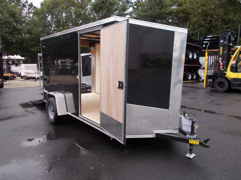 2018 Cargo Express 6x12 Cargo / Enclosed Trailer 2019543