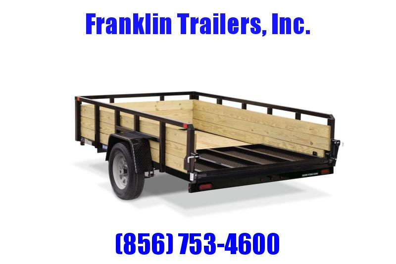 2020 Sure-Trac 6 X 10 3-Board High Side Tube Top Utility Trailer