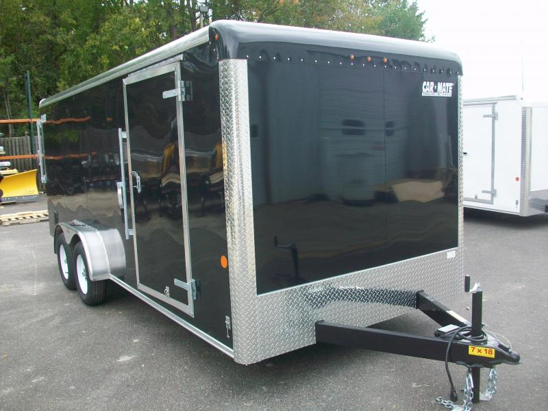 2018 Car Mate Trailers 7x18 Enclosed Cargo Trailer 2017912