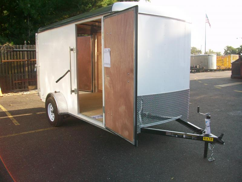 2018 Carry-On 6x12 Enclosed Cargo Trailer 2017772