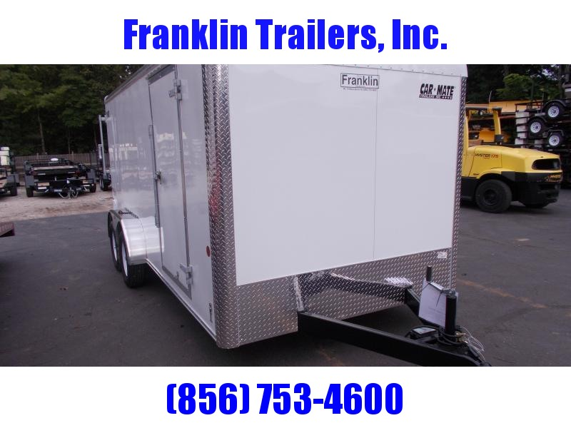 2020 Car Mate 7 X 16 - 7'W Tandem Axle Custom Cargo Trailer 2021026
