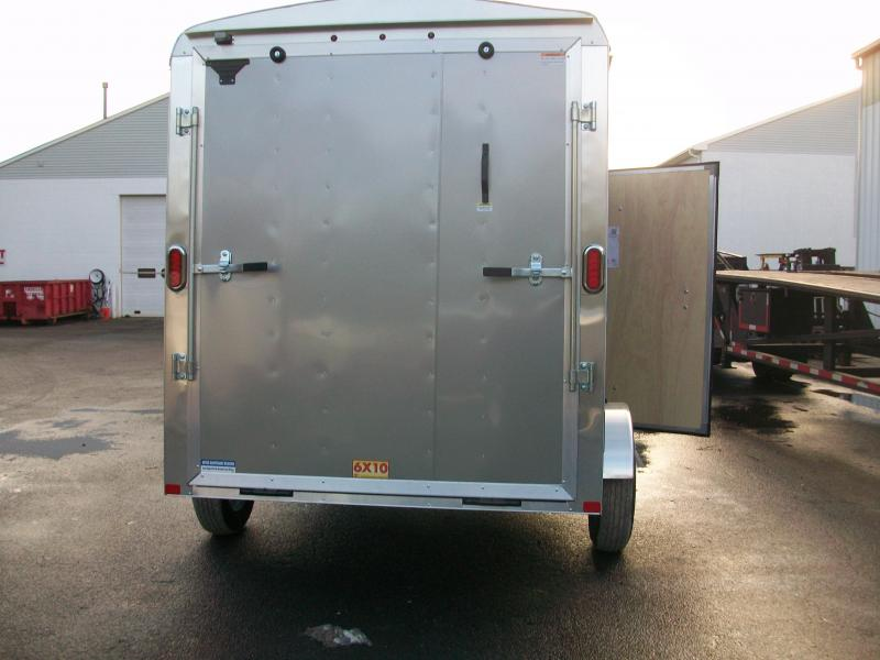 2017 Carry-On 6x10 Enclosed Cargo Trailer 2016460