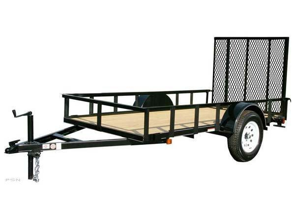 2017 Carry-On 5X12 - 2990 lbs. GVWR Wood Floor Utility Trailer 2018080