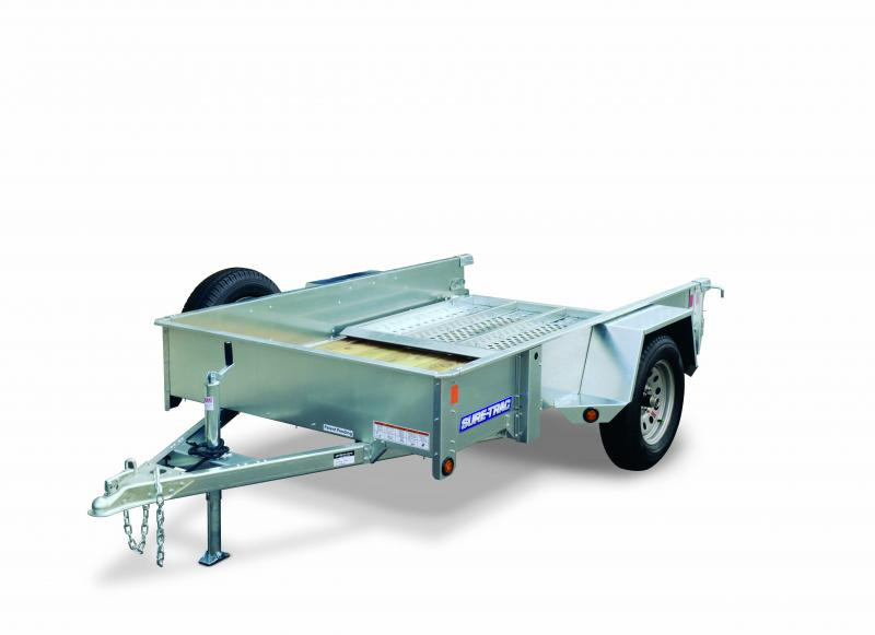 2018 Sure-Trac 5x8 Galvanized Utility Trailer 2017537