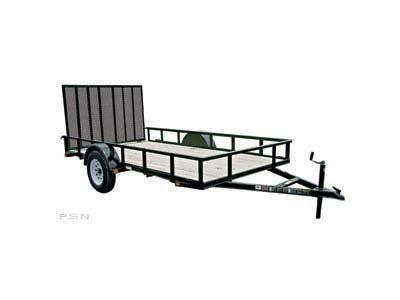 2018 Carry-On 6X12 - 2990 lbs. GVWR Wood Floor Utility Trailer 2018045