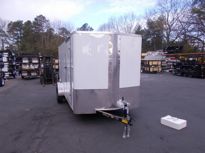 2019 Carry-On 6X14 V-Nose Enclosed Cargo Trailer 2020347
