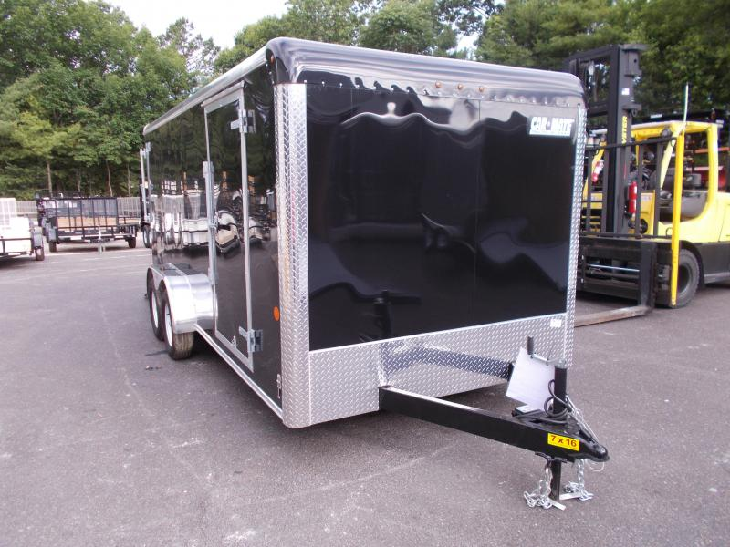 2018 Car Mate Trailers 7x16 Enclosed Cargo Trailer 2019057