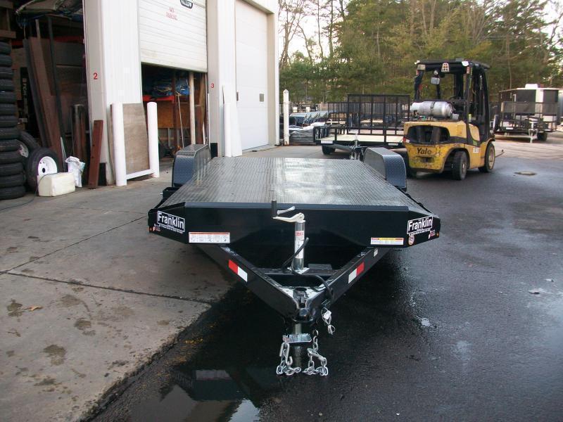 "2017 Sure-Trac 82"" x 18 ft. Steel Deck Car Hauler 2017050"
