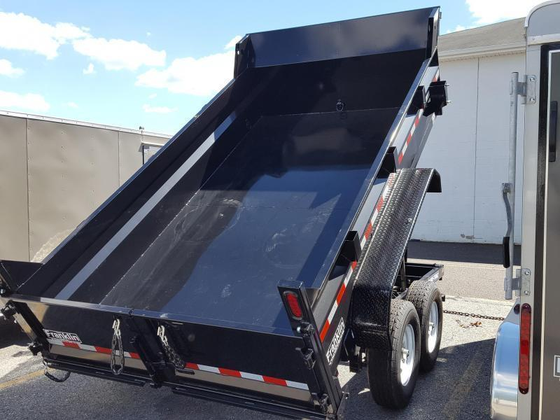 2017 Sure-Trac 82x12 12K Low Pro Dump Trailer 2017245