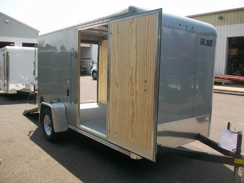 2017 Car Mate Trailers 6x12 Enclosed Cargo Trailer 2017408