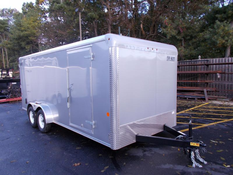 2019 Car Mate Trailers 7x18 Enclosed Cargo Trailer 2019621