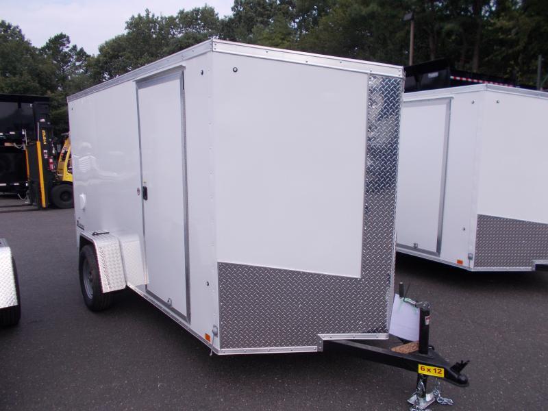 2018 Cargo Express Xlw 6x12 Cargo / Enclosed Trailer 2019448