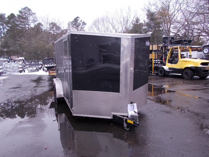 2018 Cargo Express 7x14 V-Nose Flat Top Cargo / Enclosed Trailer 2020087