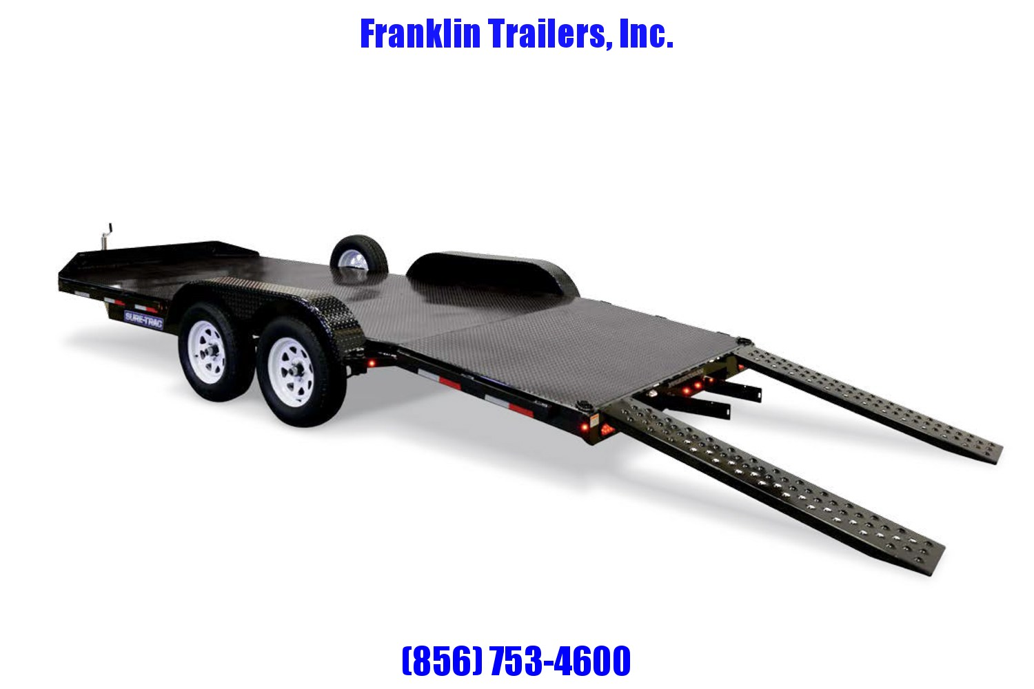 2019 Sure-Trac 7 x 18 Steel Deck Car Hauler  7k 2020451