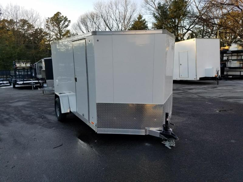 2018 Cargo Express 7x12 Aluminum Enclosed Cargo Trailer 2018261