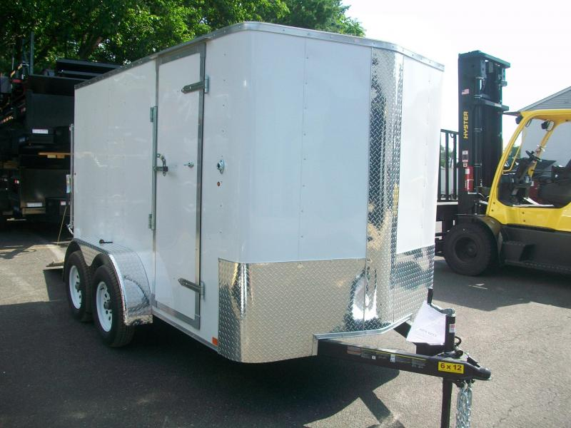 2017 Carry-On 6x12 Bull Nose Enclosed Cargo Trailer 2017340