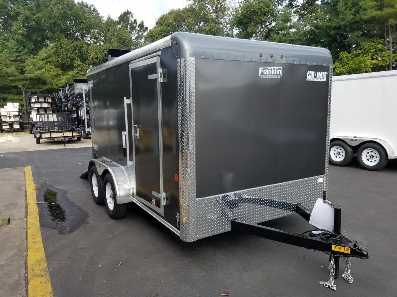 2019 Car Mate Trailers 7x12 Enclosed Cargo Trailer 2019593
